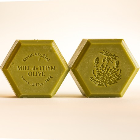 Savon miel et olive : parfum naturel olive 100g
