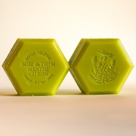 Savon miel et menthe - citron 100 g