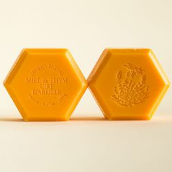 "Savon miel et cire d'abeille 100g Parfum: ""Orange-Cannelle"""