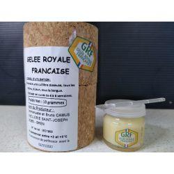 Gelée royale récoltée en France (10 g)