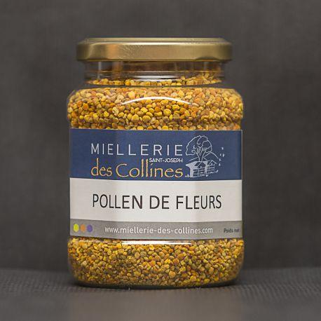 Pollen de Fleurs Sec en pot 250 g