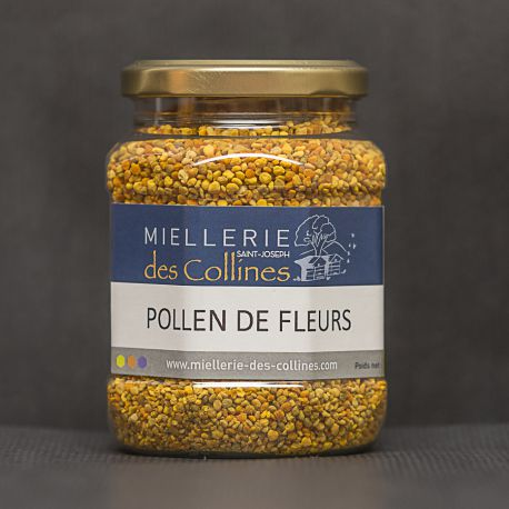 Pollen de fleurs sec (pot de 250g)