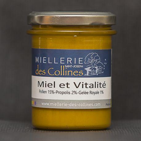 Miel et Vitalité pot de 250 g