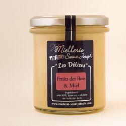 Delices Fruits des bois et Miel 400 g