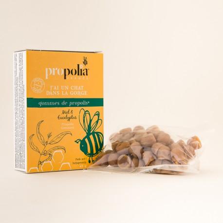 Gommes miel/propolis à l'Eucalyptus