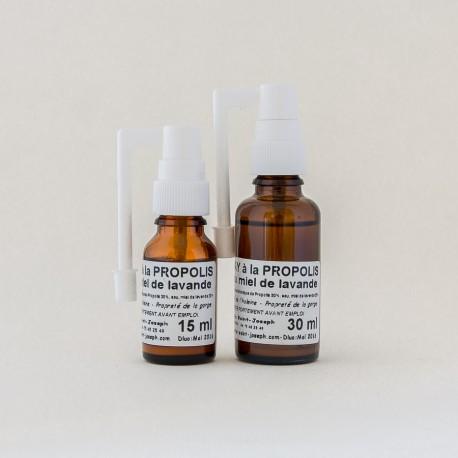 Spray oral propolis-miel : 2 contenants au choix 15ml ou 30 ml